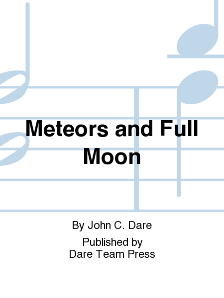 Cover of Meteors and Full Moon
