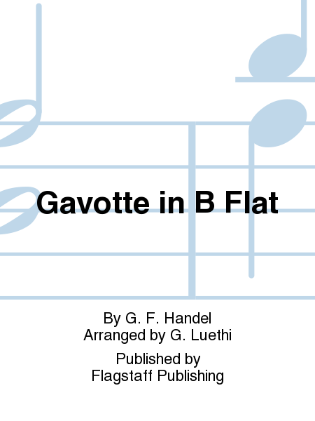 Cover of Gavotte in B Flat