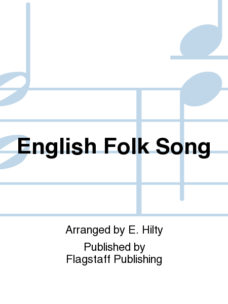 Cover of English Folk Song