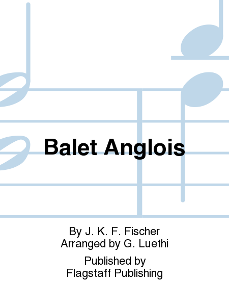 Cover of Balet Anglois