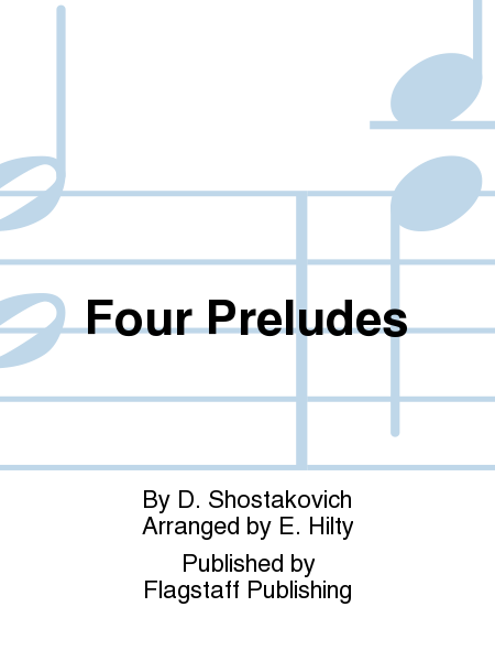 Cover of Four Preludes