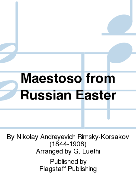 Cover of Maestoso from Russian Easter