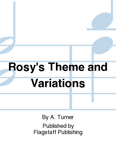 Cover of Rosy's Theme and Variations