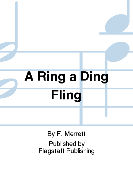 Cover of A Ring a Ding Fling