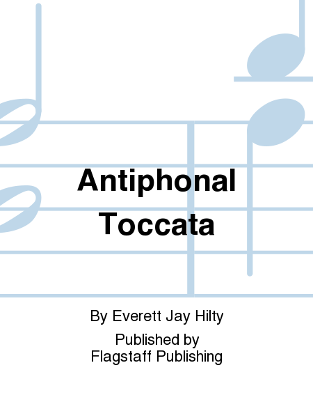 Cover of Antiphonal Toccata