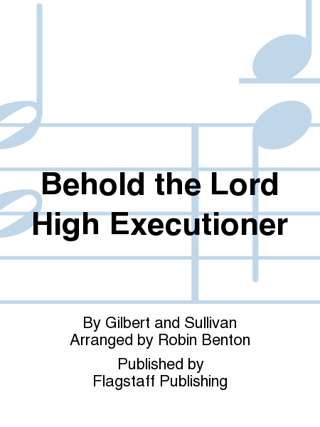 Cover of Behold the Lord High Executioner