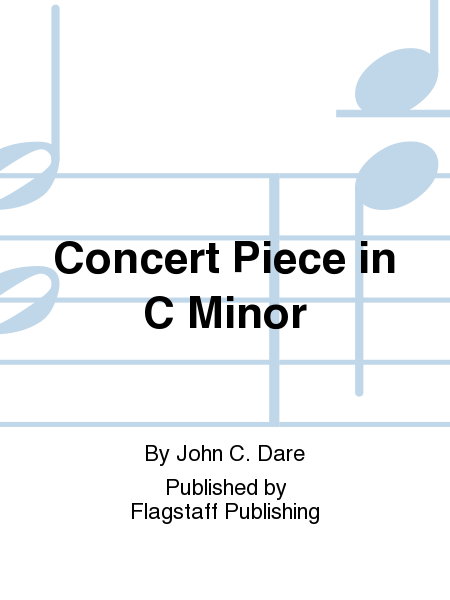 Cover of Concert Piece in C Minor