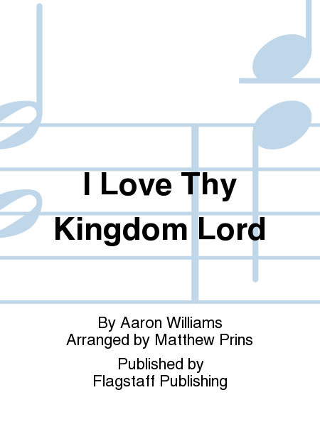 Cover of I Love Thy Kingdom Lord