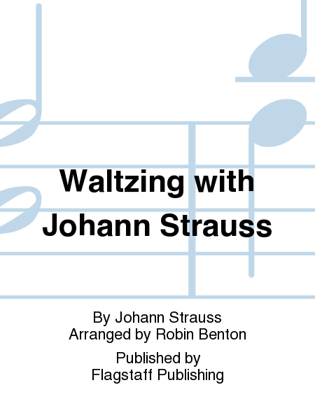 Cover of Waltzing with Johann Strauss