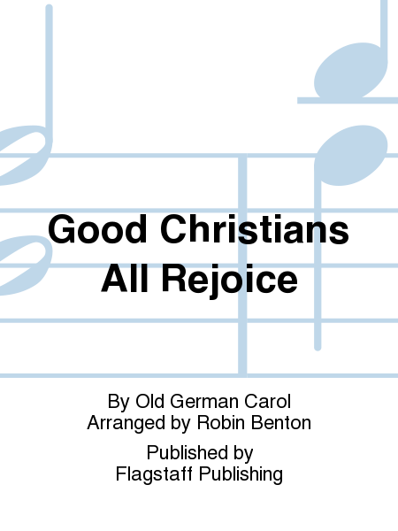 Cover of Good Christians All Rejoice