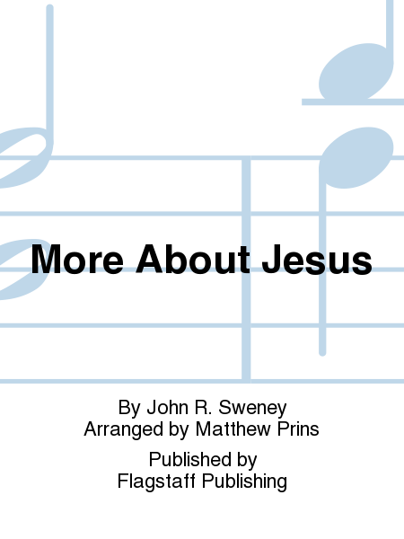 Cover of More About Jesus