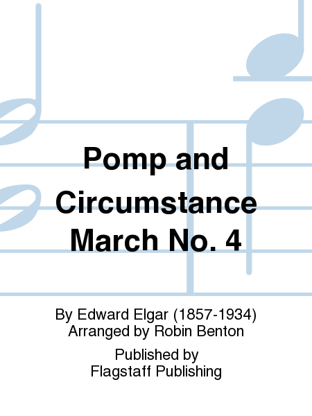 Cover of Pomp and Circumstance March No. 4