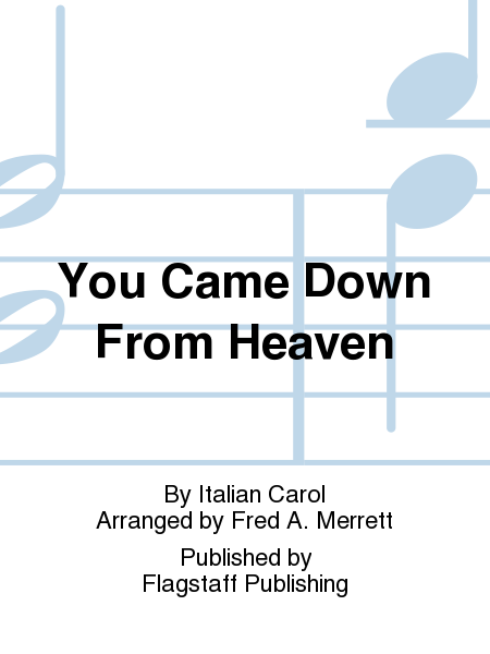 Cover of You Came Down From Heaven