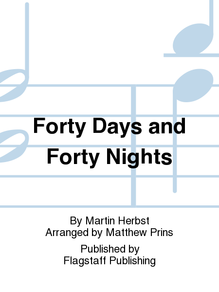 Cover of Forty Days and Forty Nights