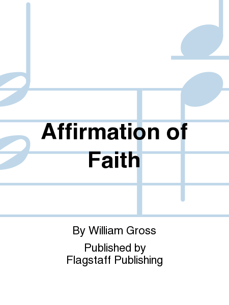 Cover of Affirmation of Faith