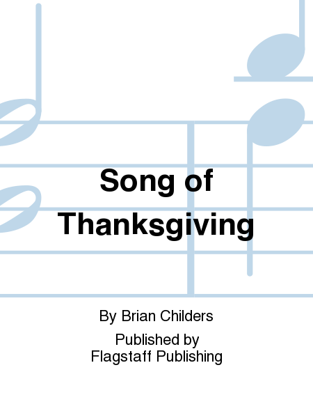 Cover of Song of Thanksgiving