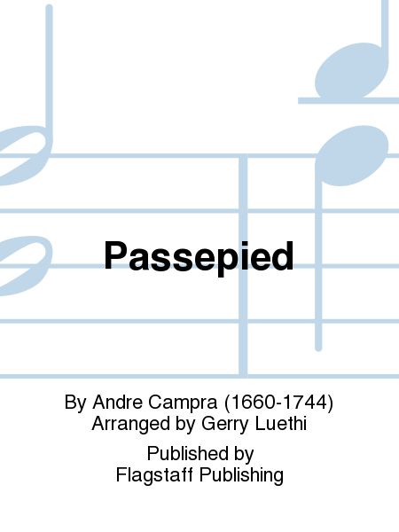 Cover of Passepied