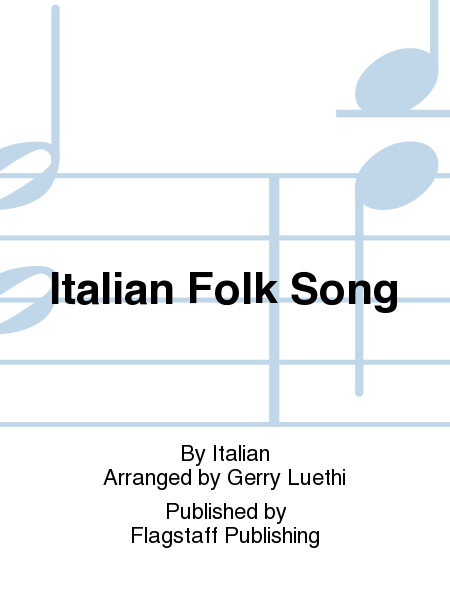 Cover of Italian Folk Song