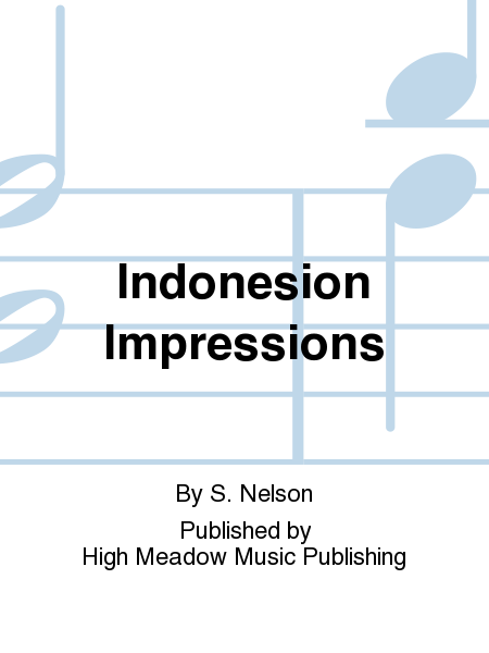 Cover of Indonesion Impressions