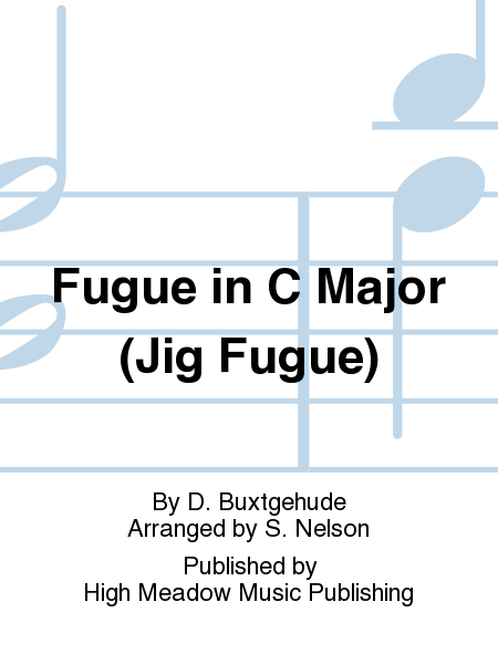 Cover of Fugue in C Major (Jig Fugue)