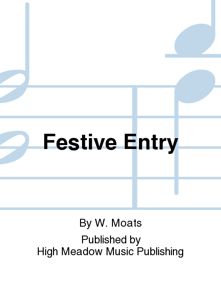 Cover of Festive Entry