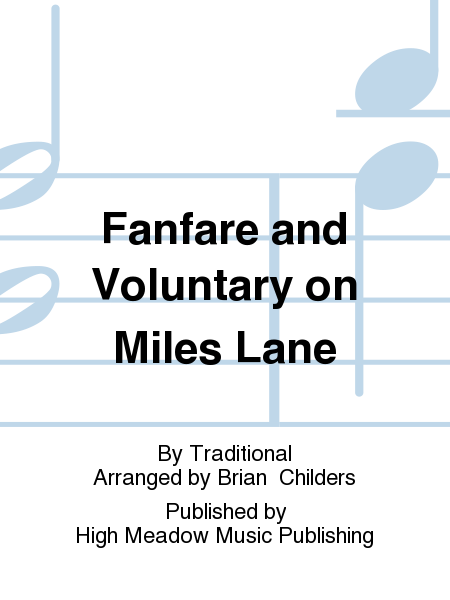 Cover of Fanfare and Voluntary on Miles Lane