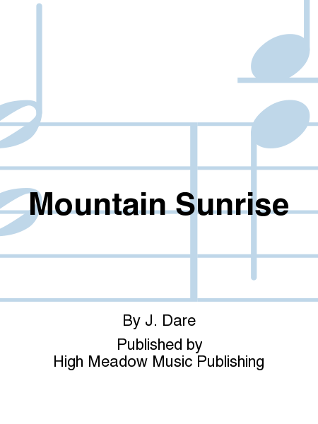 Cover of Mountain Sunrise