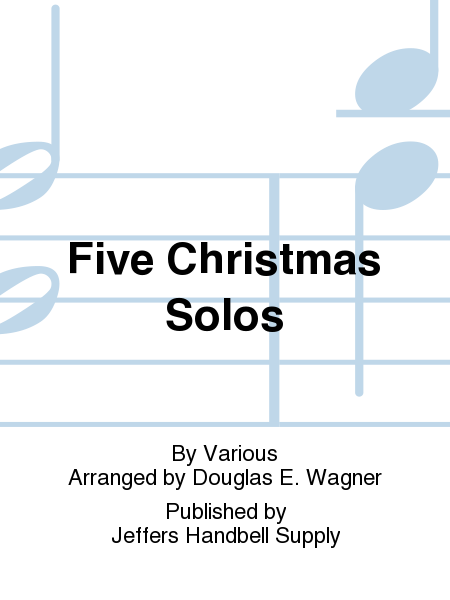 Cover of Five Christmas Solos