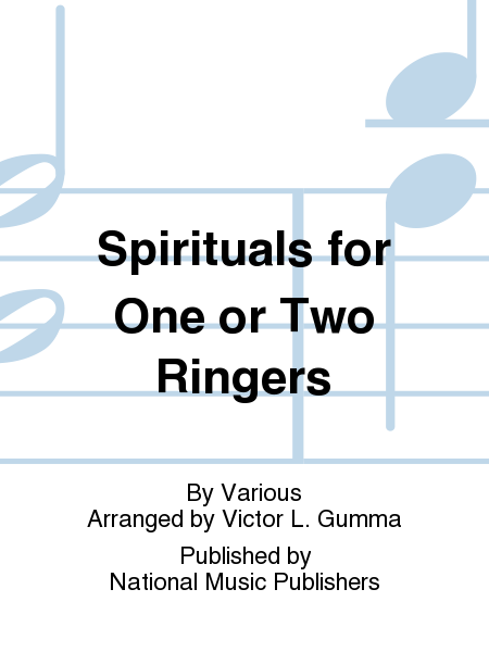 Cover of Spirituals for One or Two Ringers