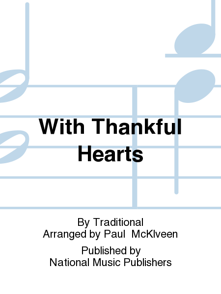 Cover of With Thankful Hearts