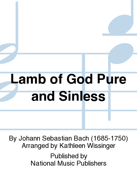 Cover of Lamb of God Pure and Sinless