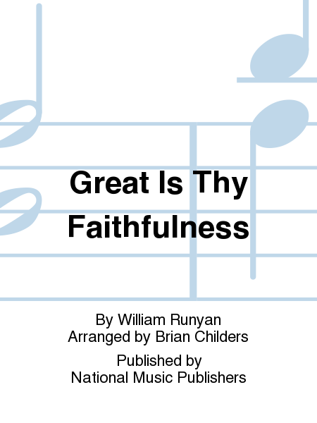 Cover of Great Is Thy Faithfulness