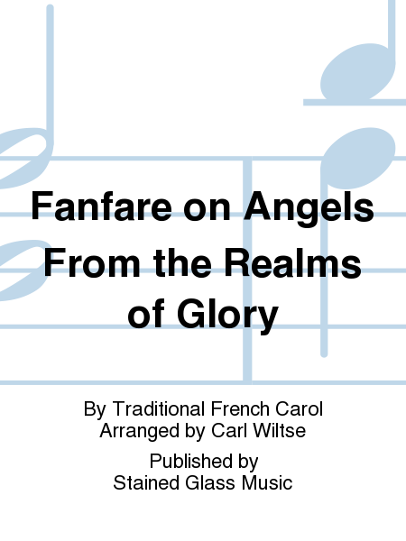 Cover of Fanfare on Angels From the Realms of Glory
