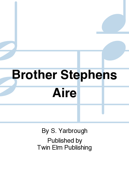 Cover of Brother Stephens Aire
