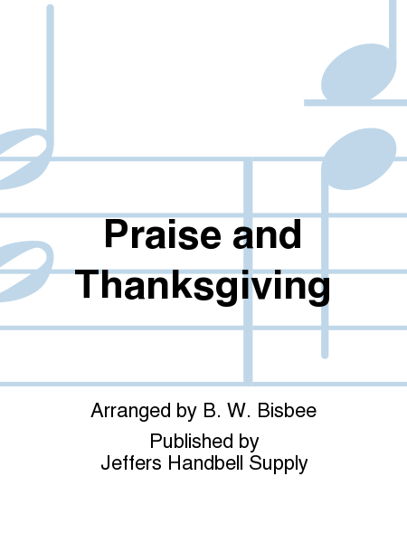 Cover of Praise and Thanksgiving