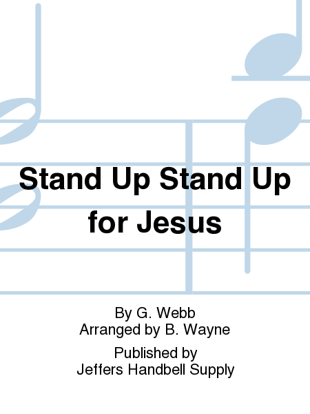 Cover of Stand Up Stand Up for Jesus