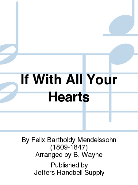 Cover of If With All Your Hearts