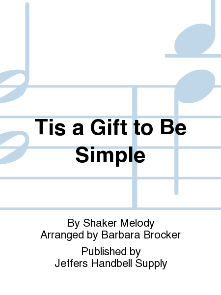 Cover of Tis a Gift to Be Simple