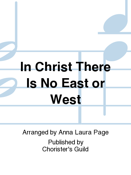 Cover of In Christ There Is No East or West