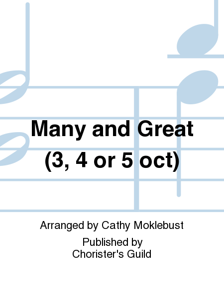 Cover of Many and Great