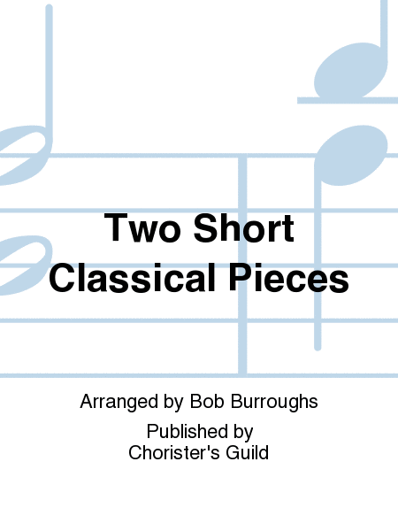 Cover of Two Short Classical Pieces