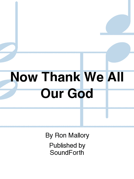 Cover of Now Thank We All Our God