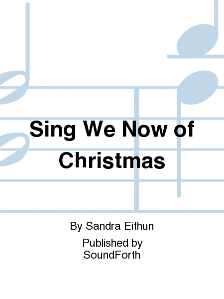 Cover of Sing We Now of Christmas
