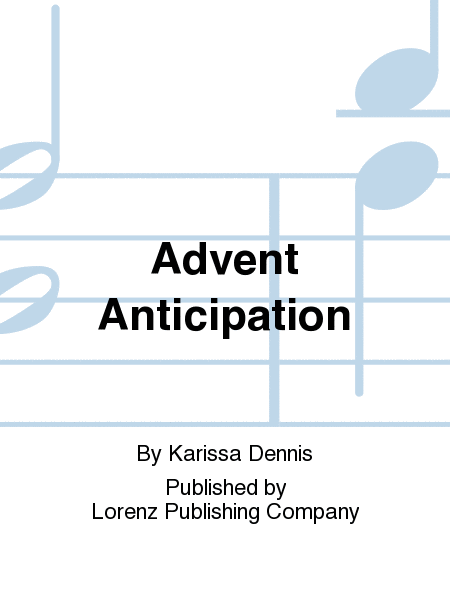 Cover of Advent Anticipation