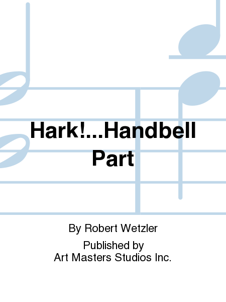 Cover of Hark!...Handbell Part