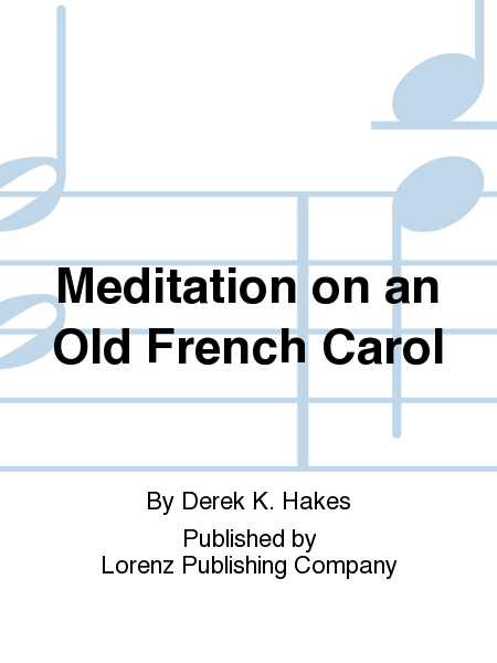 Cover of Meditation on an Old French Carol