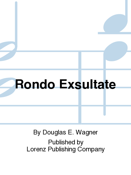 Cover of Rondo Exsultate