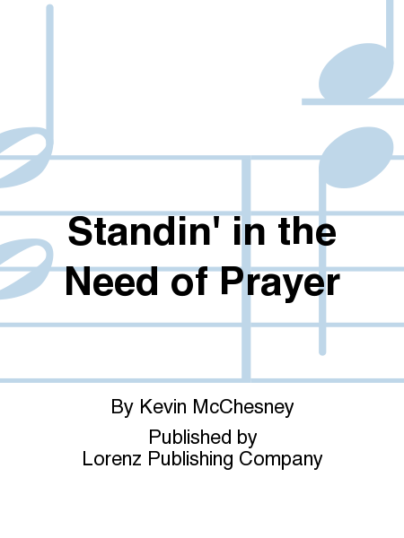 Cover of Standin' in the Need of Prayer