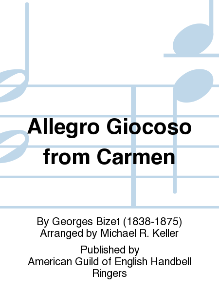 Cover of Allegro Giocoso from Carmen