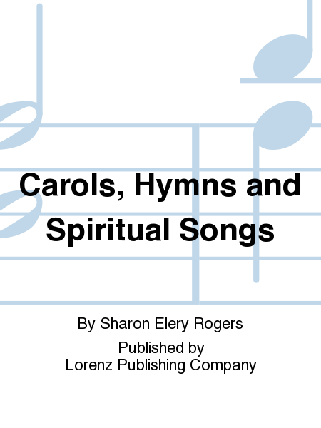 Cover of Carols, Hymns and Spiritual Songs